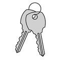 Master Control Key for Built-in Key Lock for Open Access Designer Lockers