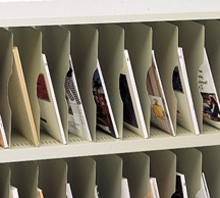 Additional shelf for Vertical Mail Sorters