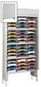 48 Pocket 36-inch Wide Security Mail Sorter with Riser