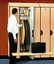Extra Wide Wood Designer Lockers