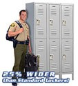 Extra Wide Metal Storage Lockers