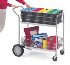 mail & package cart