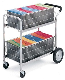 office distribution cart