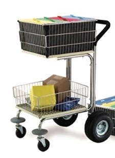 compact mobile office carts
