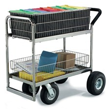 mail distribution cart