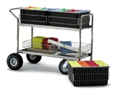heavy duty mail carts