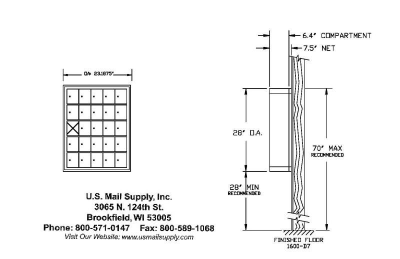 cell phone locker surface mounted standard depth keyed locks 25 doors. Black Bedroom Furniture Sets. Home Design Ideas