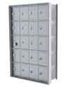Recess Mounted Cell Phone Lockers