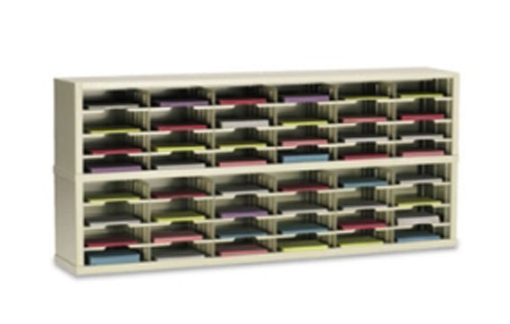 72in Wide Mail Sorter with 48 Pockets #PY782 | USPS Mail ...