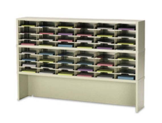 "72"" Wide Mail Sorter 56 Pockets #PY854"
