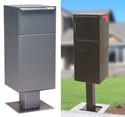 Pedestal Mounted Delivery Vault Drop Box