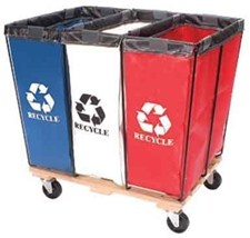 Red, White and Blue Recycle Hampers