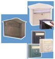 Decorative Wallmounted Residential Mailboxes