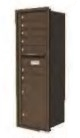 STD-4C Locking Horizontal Mailbox Antique Bronze