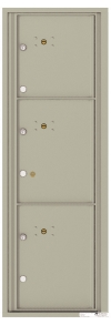 3 Parcel Locker STD-4C Horizontal Locker