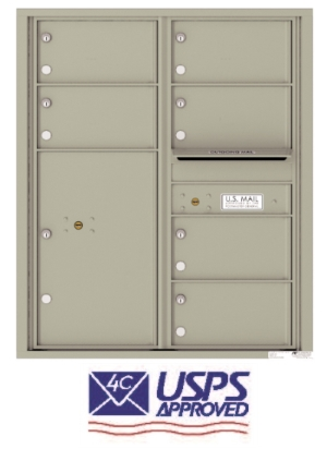 USPS Approved 4C Horizontal Mailboxes