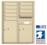 USPS Approved Recess Mounted Horizontal Mailboxes