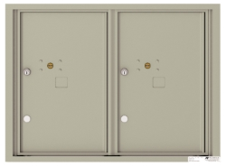 4C Horizontal Wall Mount 2 Parcel Locker