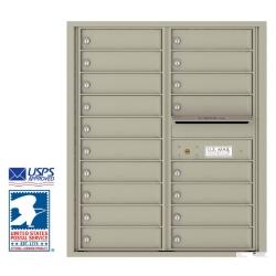 4c Horizontal Apartment Mailboxes