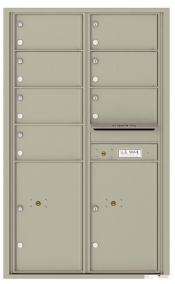 Cluster Mailboxes for Indoor and Outdoor Use