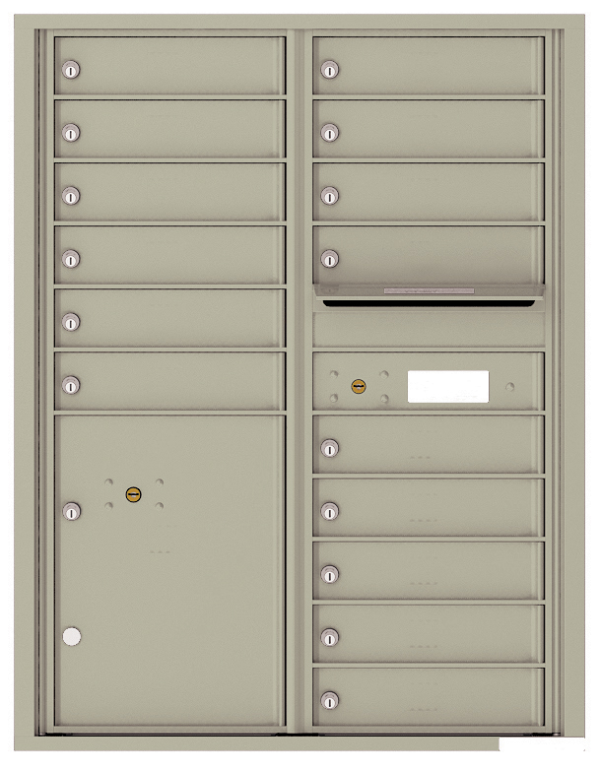 USPS Approved 4C Horizontal Apartment Mailbox