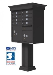 Cluster Mailboxes for Commercial Buildings