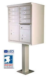 Cluster Mailboxes for USPS Delivery