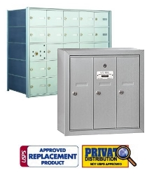 Commercial Indoor Mailboxes