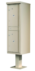 Outdoor Pedestal Lockers for Apartments