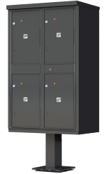 Outdoor Pedestal Lockers For Apartments Mail Box