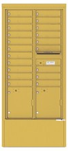 16-High Horizontal Depot Mailboxes