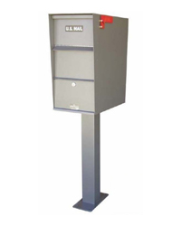Locking Residential Pedestal Mailboxes