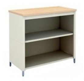 30-Inch Extra Deep Open Storage Table with 2 Lower Shelves