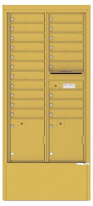 16-High 4C Horizontal Depot Mailboxes