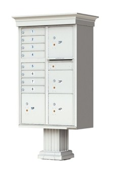 Decorative 8 Door USPS Approved Cluster Box for Sale