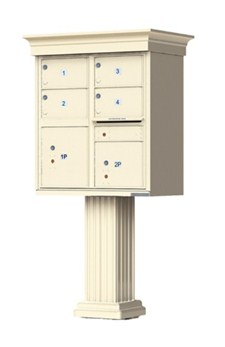 Decorative USPS Approved Outdoor Cluster Mailbox