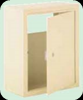 Collection Box Receptacle for Mail Drop Slot Sandstone