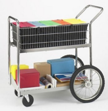 Mailroom Carts for easy transportation
