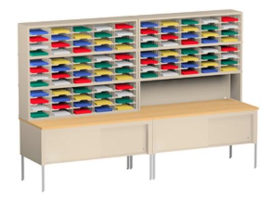 Literature Organizers & Mail Storage