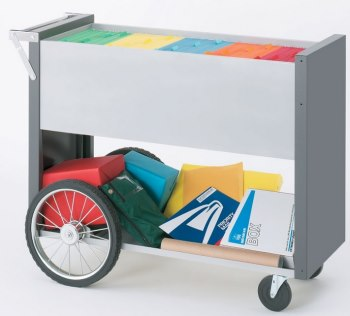 Mail carts for quick, convenient mail transportation