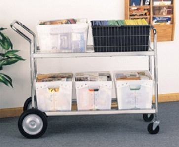 Mobile Mail Carts, Hampers and Utility Carts