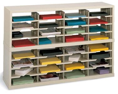 Mailroom sorters organizers office literature organization units mailroom metal sorter modules solutioingenieria Choice Image