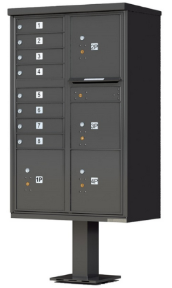 Cluster Mailboxes Usps Approved Outdoor Pedestal Cbu