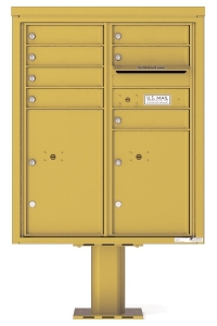 Pedestal Mailboxes for Private Delivery