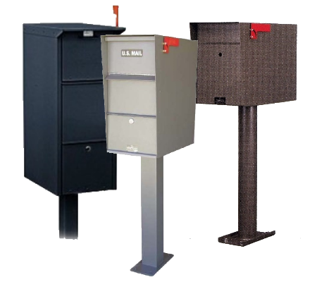 Residential Pedestal Mailboxes for Sale