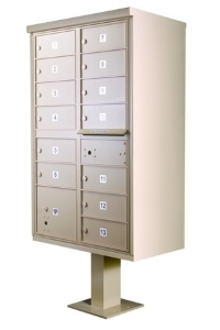 Cluster Mailboxes | Outdoor Pedestal Mailbox Units | USPS and ...