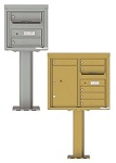 Outdoor Pedestal Mailboxes