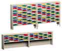 120-inch wide Closed Back Mail Sorters