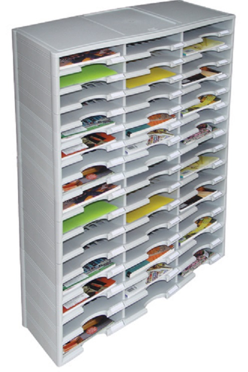 48 Pocket Plastic Economy Literature Organizer Us Mail