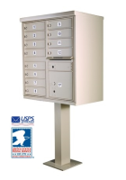 1570-12 12 Door Cluster Mailbox CBU Unit